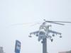 В городе Люберцы установлен памятник в виде боевого вертолета. Недалеко от него в одном из домов мы установили новые пластиковые окна VEKA