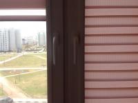 установка гребенки на окно