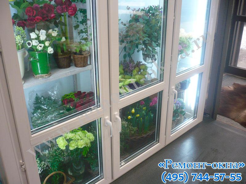 Цветы на холодильнике