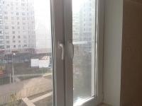 Замена глухой створки окна на открывающуюся