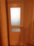 Замена разбитого стекла в комнатной двери