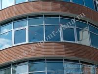 Замена стеклопакета в фасадном алюминии