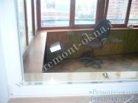 замена стеклопакета в деревянном окне